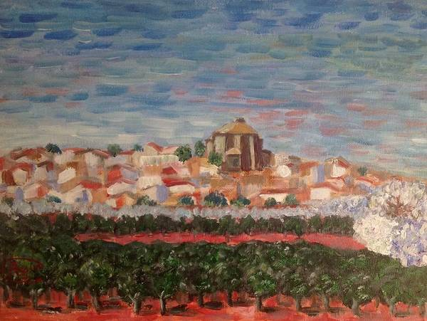 Castilla Painting - Spring Is In The Air by Asuncion Purnell