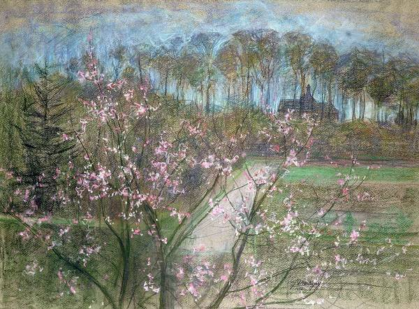 Wall Art - Painting - Spring Landscape by Jenny Montigny