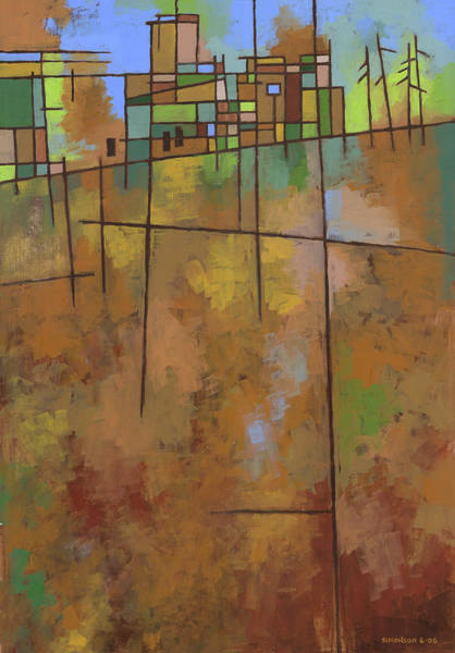 Wall Art - Painting - Spring Melt by Douglas Simonson
