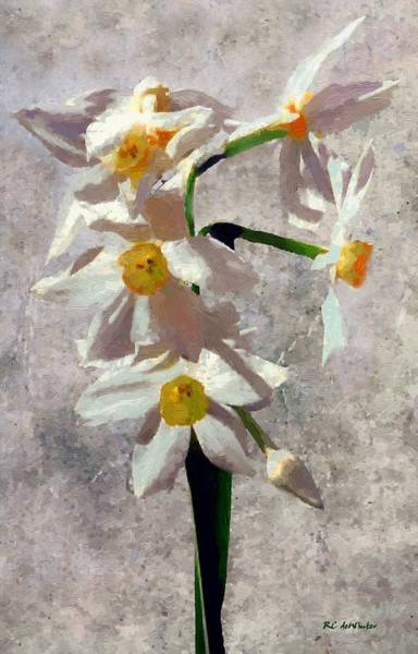 Painting - Spring On A Stalk by RC DeWinter