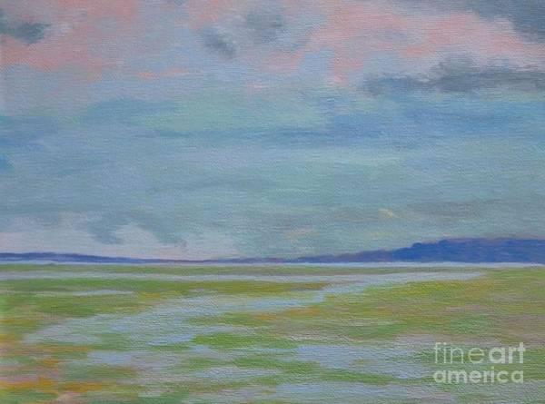 Painting - Spring Rain At Lake Jackson by Gail Kent