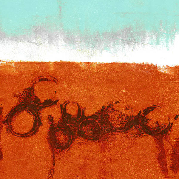 Abstraction Digital Art - Spring Rains by Carol Leigh