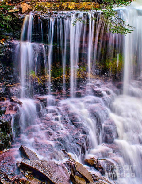Photograph - Spring Runoff At The Falls by Nick Zelinsky