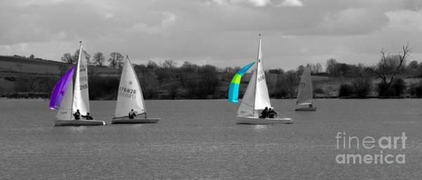 Photograph - Spring Sailing by Jeremy Hayden