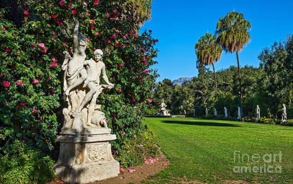 Wall Art - Photograph - Spring Sculpture Garden by Jamie Pham