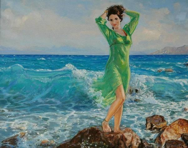 Painting - Spring by Sefedin Stafa
