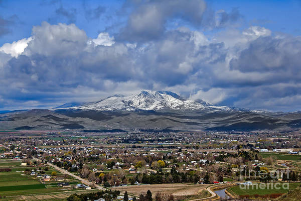 Sensational Photograph - Spring Snow On Squaw Butte by Robert Bales