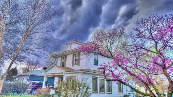 Spring Storm Art Print by Larry Bodinson