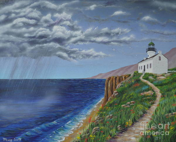 Painting - Spring Storm by Mary Scott