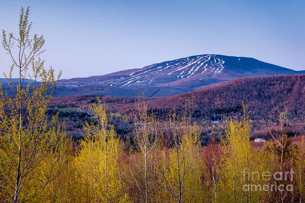 Photograph - Spring Sunrise On Stratton Mountain by Susan Cole Kelly