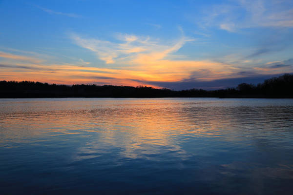 Photograph - Spring Sunset On The Huron by Rachel Cohen