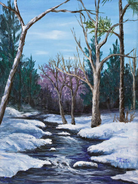 Painting - Spring Thaw by Darice Machel McGuire
