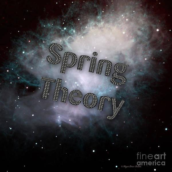 Digital Art - Spring Theory V2 by Megan Dirsa-DuBois