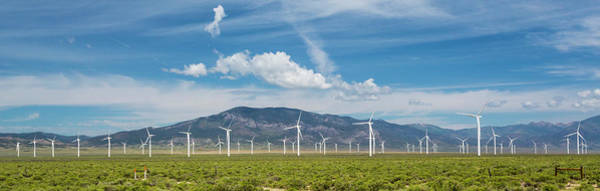 Wall Art - Photograph - Spring Valley Wind Farm by Jim West/science Photo Library