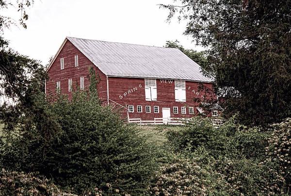 Photograph - Spring View Farm by Kristia Adams