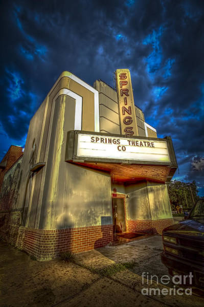 Wall Art - Photograph - Springs Theater Co by Marvin Spates