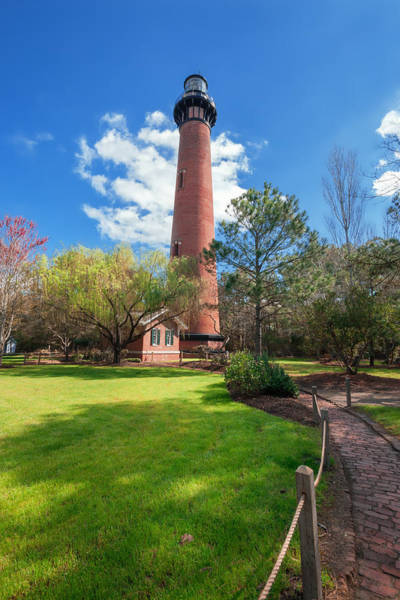 Photograph - Springtime At Currituck Lighthouse  by Mary Almond