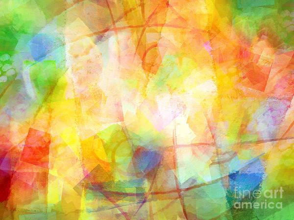 Impression Mixed Media - Springtime Colorit by Lutz Baar