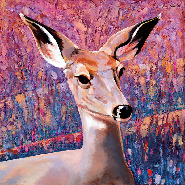 Experiment Painting - Springtime Colors by Bob Coonts