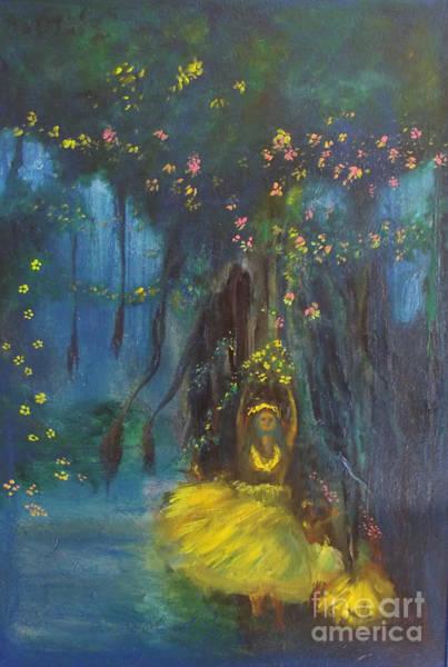 Painting - Springtime by Donna Chaasadah