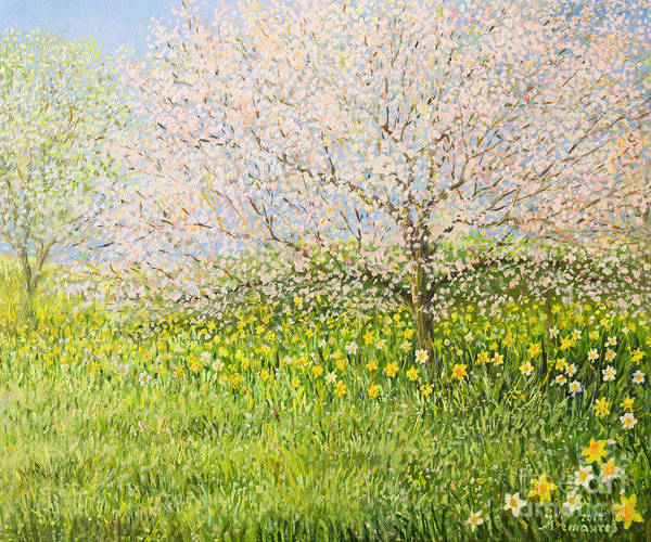 Wall Art - Painting - Springtime Impression by Kiril Stanchev