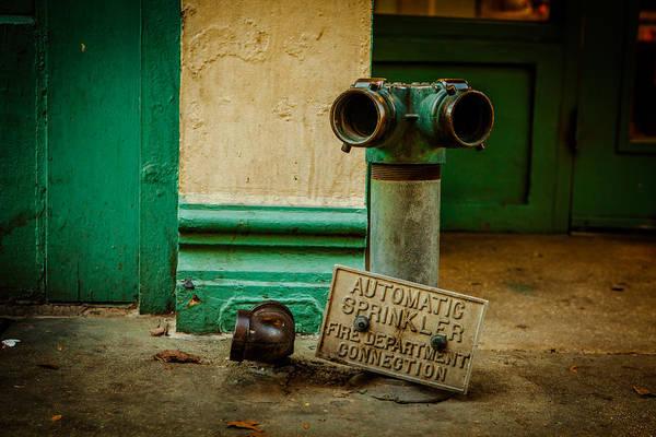 Photograph - Sprinkler Green by Melinda Ledsome