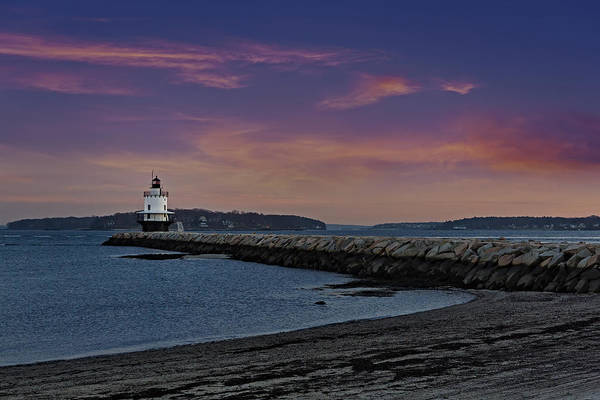 Photograph - Sprint Point Ledge Light by Susan Candelario
