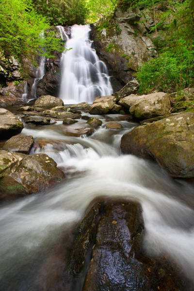 Photograph - Spruce Flat Falls And Cascades by Michael Blanchette