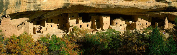 Abode Photograph - Spruce Tree House, Mesa Verde National by Panoramic Images