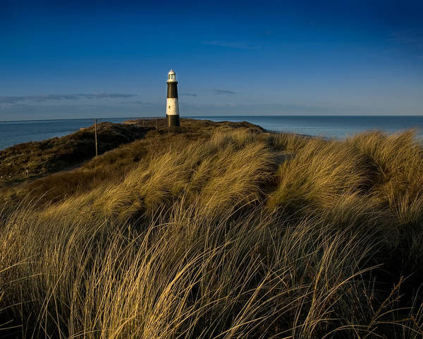 Photograph - Spurn Point Lighthouse by Paul Indigo