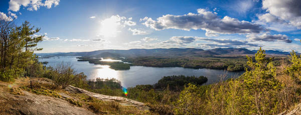 Photograph - Squam Lake Sunshine by Robert Clifford