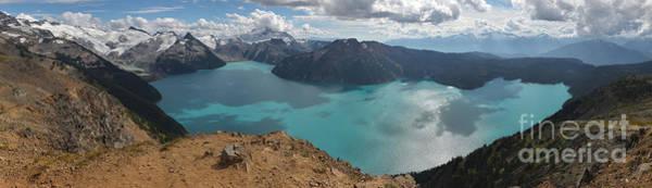 Photograph - Squamish Canada Garibaldi Panorama by Adam Jewell