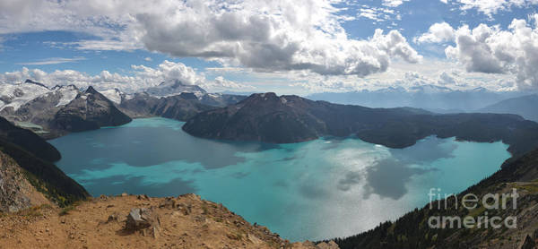 Photograph - Squamish Canada Panorama - Garibaldi Lake by Adam Jewell