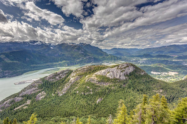 Photograph - Squamish Chief From Sea To Sky Gondola by Pierre Leclerc Photography
