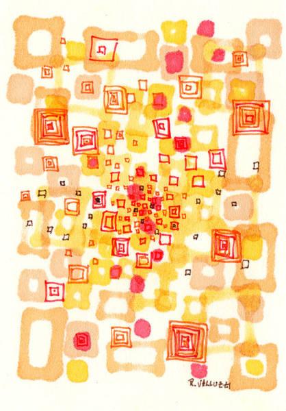 Drawing - Square Passage by Regina Valluzzi