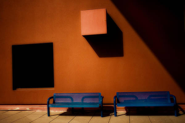 Photograph - Square Shadows by Melinda Ledsome