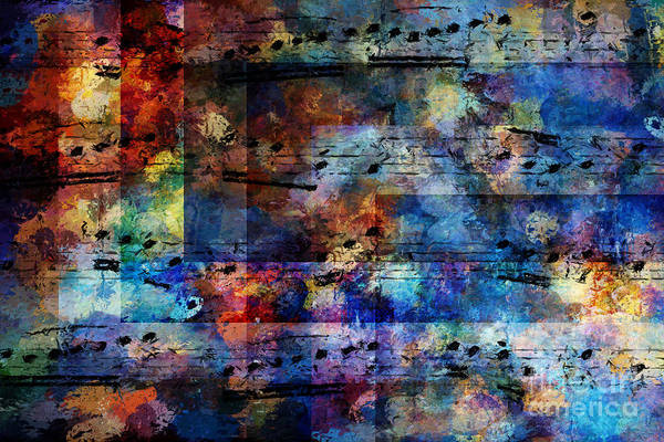 Art Print featuring the digital art Squared Off by Lon Chaffin