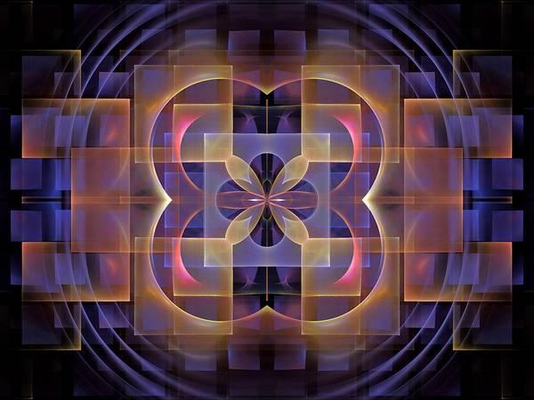 Dive Bar Digital Art - Squares-center-1bb by Bill Campitelle