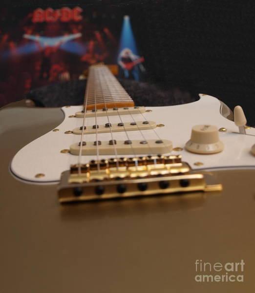 Photograph - Squier Stratocastor Guitar - 3 by Vivian Martin