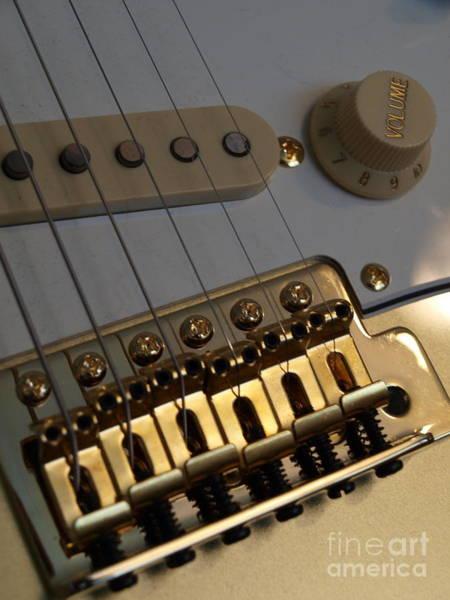 Photograph - Squier Stratocastor Guitar - 8 by Vivian Martin