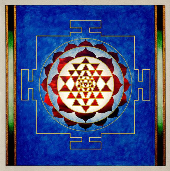 Mixed Media - Sri Yantra by Lee Santa