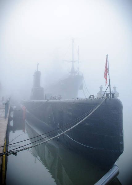 Photograph - Ss-246 Uss Croaker by Guy Whiteley