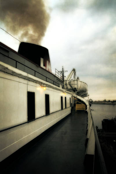 Photograph - S.s. Badger Car Ferry by Michelle Calkins