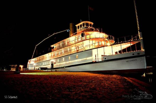 Ss Sicamous Frontview 1/21/2014  Art Print