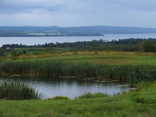 Aroostook County Photograph - St Agatha View 2 by Gene Cyr