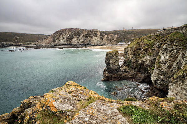 Shirleys Bay Photograph - St Agnes Heritage Coast  by Shirley Mitchell
