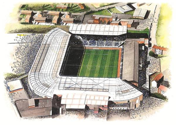 Wall Art - Painting - St Andrews - Birmingham City by Kevin Fletcher