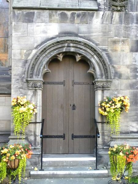Photograph - St Andrews Door by Peggy  McDonald