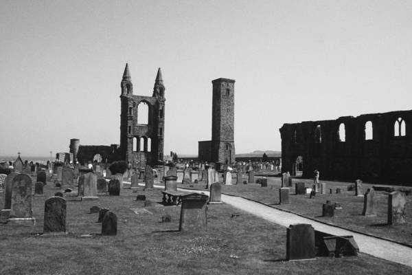 St Andrews Photograph - St. Andrews Graveyard by Bill Fields