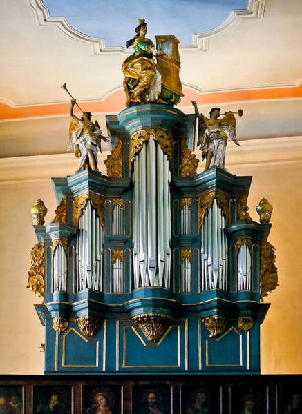Photograph - St Anna Organ In Limburg by Jenny Setchell